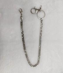 Cadeia de fantasia decorativa de metal de moda para as calças de acessórios de vestuário