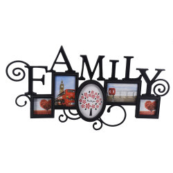 Familien-Einspritzung-Foto-Rahmen für das Wand-Hängen