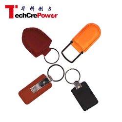 L20 F08 de conception personnalisée Fudan Key Fob en cuir de la puce RFID Tag 13.56MHz en cuir