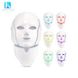 A terapia de luz LED PDT Máscara facial máscara facial de LED de 7 cores