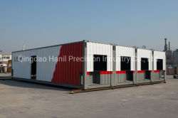 휴대용 Prefabricated 또는 조립식 또는 모듈 20FT 40FT 주문을 받아서 만들어진 색깔 또는 Sinopec를 위한 가동 또는 선적 컨테이너 홈 또는 Csc/Kr/JIS 증명서를 가진 기숙사 노동 호텔