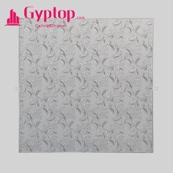 석고 천장/PVC 고약 천장 널/비닐은 천장 T 격자를 가진 틀린 천장을%s 석고 천장 도와를 직면했다