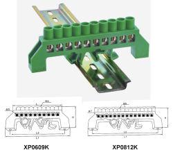 Mise à la masse électrique barre en laiton neutre Bloc de câblage