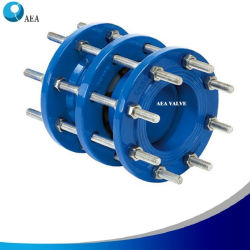 容易なインストールは水のための接合箇所を分解する青い静電気の融合によって結ばれる粉のExpoxyの鋳造物鋼鉄か延性がある鉄のフランジEPDM NBR Vitonのシートを除去し、