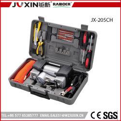 Koffer-Düsen-Installationssatz-Luftpumpe-Auto-Gebrauch des Gummireifen-Luftpumpe-Luftverdichter-12V haltbarer beweglicher