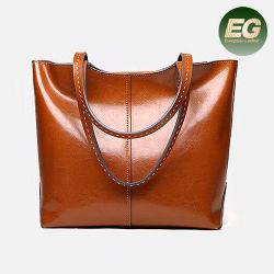 Sacos de moda de bolsas de couro grandes mulheres Sacola de Compras5343 EMG