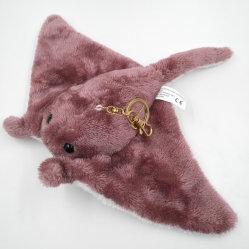 Высокое качество Манта рыб и мягкие игрушки Custom шикарные рыб брелок для ключей