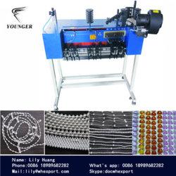 Rouleau de chaîne de contrôle aveugle verticale infinies Rosaire infinies bas ballon rond en plastique de perles de moules de la chaîne à billes Making Machine Machines appareil