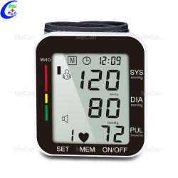 デジタル・リスト電子式血圧計から心拍数をモニタリングする脈拍数