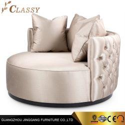 Base di sofà moderna rotonda per la mobilia del salone