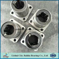 Cuscinetto lineare per alte temperature con staffa in acciaio (LMF...LGA Serious)