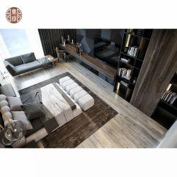 Custom Made New Design Blue Grey TV Hintergrund Bett Hintergrund Regal Stuhl Mit Holzplatte