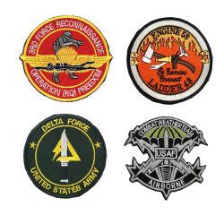 Logo brodé à armure sergé broderie personnalisée des correctifs