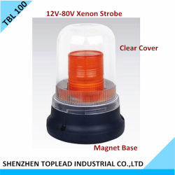 12V-80V Xenon Strobe Warning Light/Xenon Flash Warning Light (TBL 100)