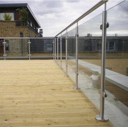 Pasamanos de acero inoxidable Accesorios para barandillas modulares exterior/balaustrada/vidrio Baluster/escalera