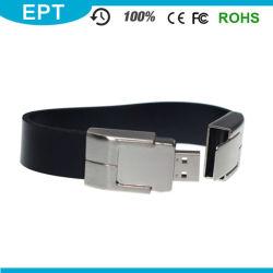 Heißes ledernes Armband USB-Blitz-Laufwerk für förderndes Geschenk (EB072)