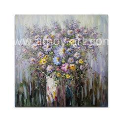 Вручную тяжелой нефти цветок картины маслом для монтажа на стену оформление