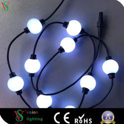 DMX 512 смены цветов светодиодный индикатор шарового шарнира на Рождество