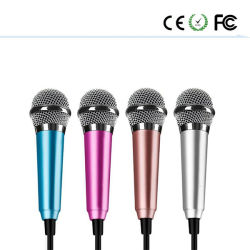 3.5mm Freisprechclip auf Minirevers-Mikrofon-Mikrofon für Computer-Telefon