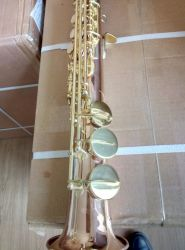 Cobre rojo saxo soprano profesional /Sax