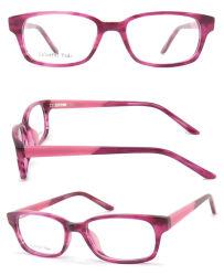 تصميم إيطاليا البصري ذو تصميم جديد من Eyewear Frintage Acetate