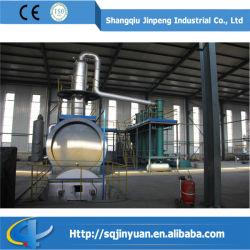 Déchets d'huile raffinée usine de distillation du pétrole brut de la machine