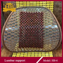 Mesh+cordões de madeira Almofada de cintura de boa qualidade do Suporte Traseiro