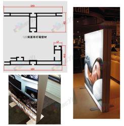 旗LED Lightboxの陳列台を広告する贅沢な屋外ポリエステルファブリック