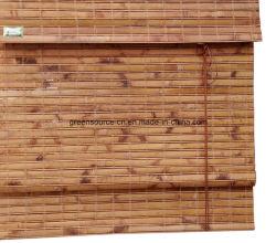 Het Venster van het bamboe Blind in Rol en Roman Stijl