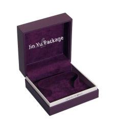 صندوق تغليف فاخر ممتاز مخصص برقلي مصنوع من البلاستيك جواهر اللّون الأرجواني
