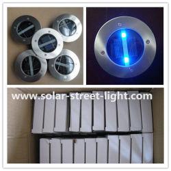 O LED de energia solar redonda de alumínio luz de tijolos para estrada