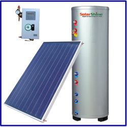 chauffe-eau solaire de type Split d'alimentation sous pression avec la plaque de collecteur solaire panneau plat