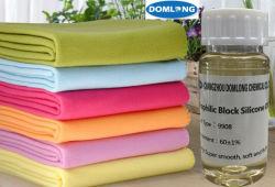 Huile de Silicone soluble dans l'eau pour le tissu