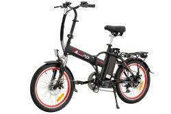 20 polegadas novo estilo de roda de 2 AC 100-240V Carregador inteligente para a mulher a dobragem Electric Aluguer de senhoras de dobragem de ciclomotor Bicycleelectric Listr Sepeda Motor sem escovas aluguer