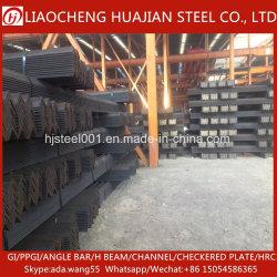 40x40 mm Q235 el ángulo en forma de V de la barra de acero para construcción