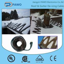 Таяние снега на крыше и защиты трубопроводов системы отопления в зимний период кабеля