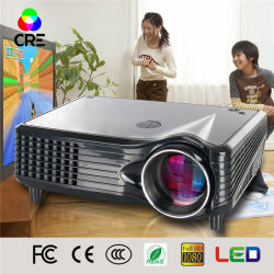 Funções multimédia Cinema Projector LCD Home Theater Projector LED portátil