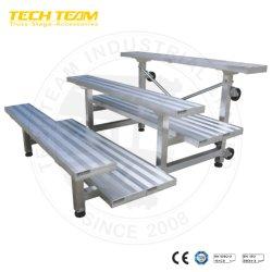 Étape Étape portables bon marché Étape d'aluminium de plate-forme pour la vente d'escalier