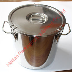 Food Grade Sealing Ringの耐久のStainless Steel Soup Bucket