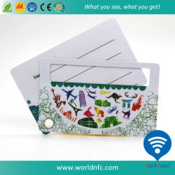 رخيصة [فولّ كلوور برينتينغ] ضعف بلاستيكيّة [بفك] متاع بطاقات