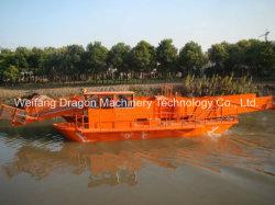 Большой размер водных сорняков комбайн / речной корабль для очистки