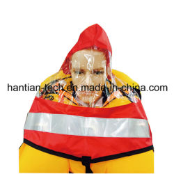 Capuche avec visière transparente pour gilet de sauvetage gonflables et de la mousse (HOOD)