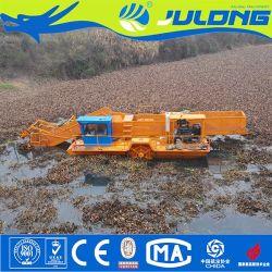 Automático Eléctrico Julong Colhedora de infestantes aquáticas e corte de grama de água e máquina de corte das plantas daninhas/cortador de grama de água de máquinas