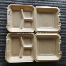 Espuma expandida PLA biodegradables de fécula de maíz de la bandeja de comida comida