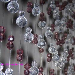 Фиолетовый хрустальное стекло нанесите слой шторки без контакт