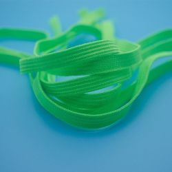 Faixa elástica de cor verde / faixa elástica coloridos de máscara de oxigênio / máscara de proteção faixa elástica