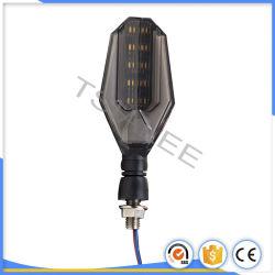 흐르는 번쩍이는 방수 12V 전구 보편적인 가장 밝은 기관자전차 LEDs