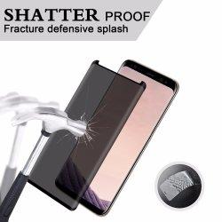 verre trempé incurvé 3D de la vie privée la gamme Protection Ecran pour Samsung Galaxy Note 8