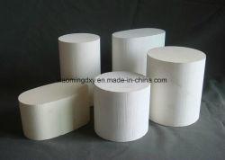 Panal de miel en panal de cerámica de catalizador de substrato cerámico portador para coche