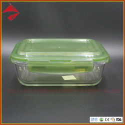 Amostra grátis refeição de vidro para armazenamento de alimentos Prep Utensílio de contêiner com recipientes para armazenamento de alimentos hermética
